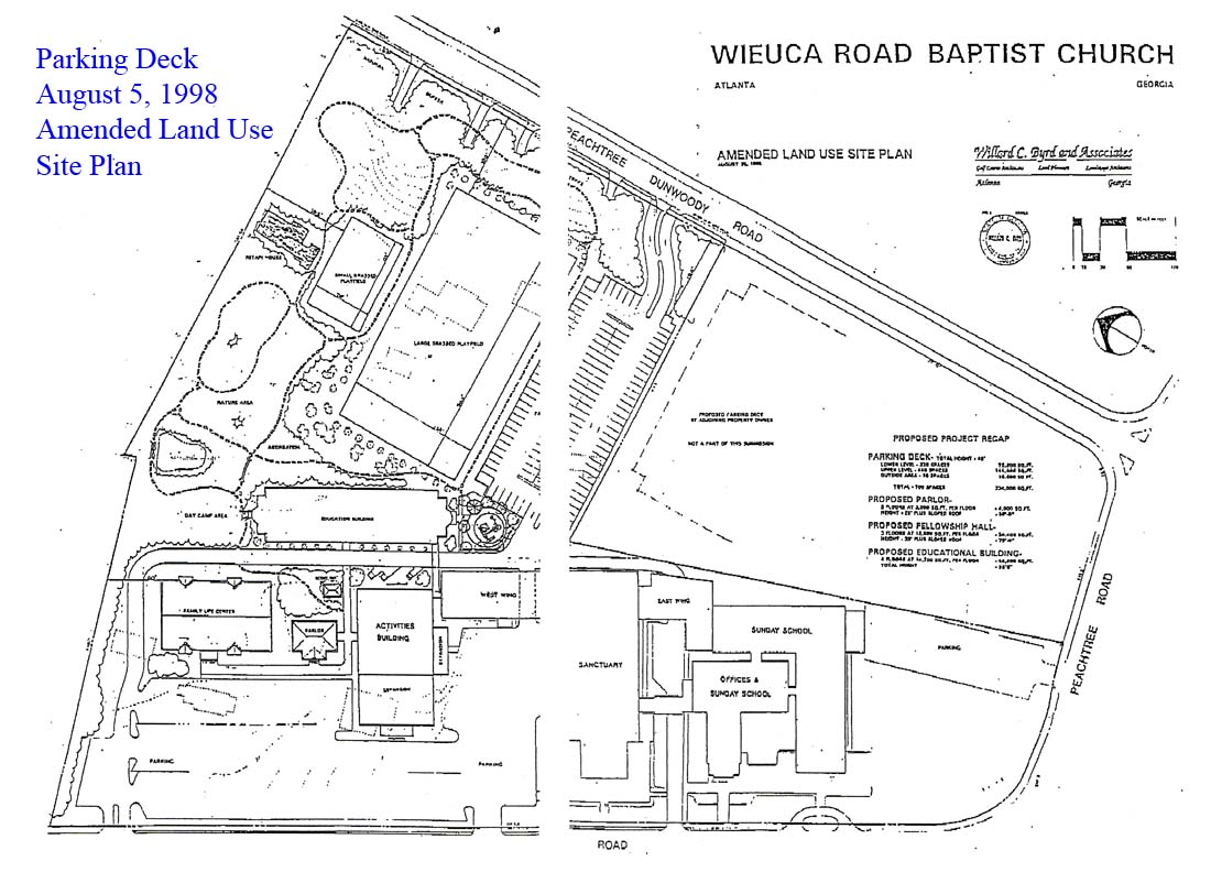 19980805 Church Deck Amended Land Use Site Plan – How To Get A Site Plan